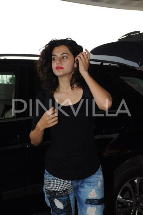 Taapsee Pannu says 'I want to lighten up my filmography and not always be so intense'
