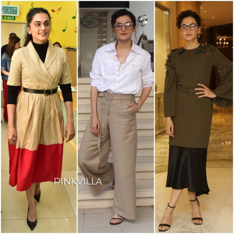Taapsee promotes her new film Badla