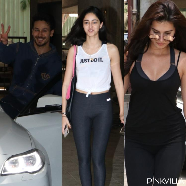 Photos: Student of the Year 2 trio Ananya Panday, Tiger Shroff & Tara Sutaria get together for dance rehearsal