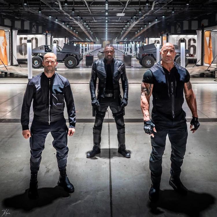 Hobbs & Shaw starring The Rock, Jason Statham and Idris Elba releases August 2, 2019.