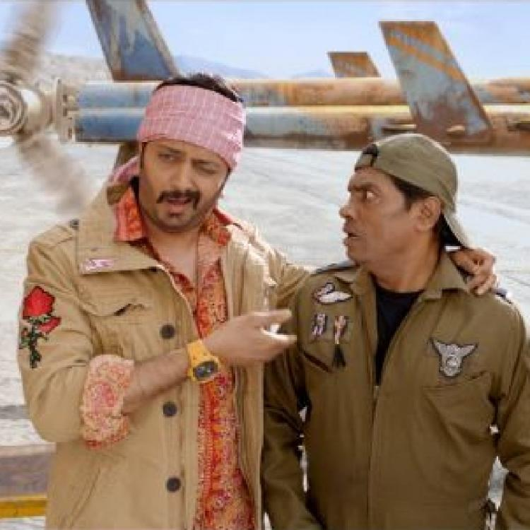 Total Dhamaal: Riteish Deshmukh & Johnny Lever's banter over their helicopter will leave you in splits; WATCH