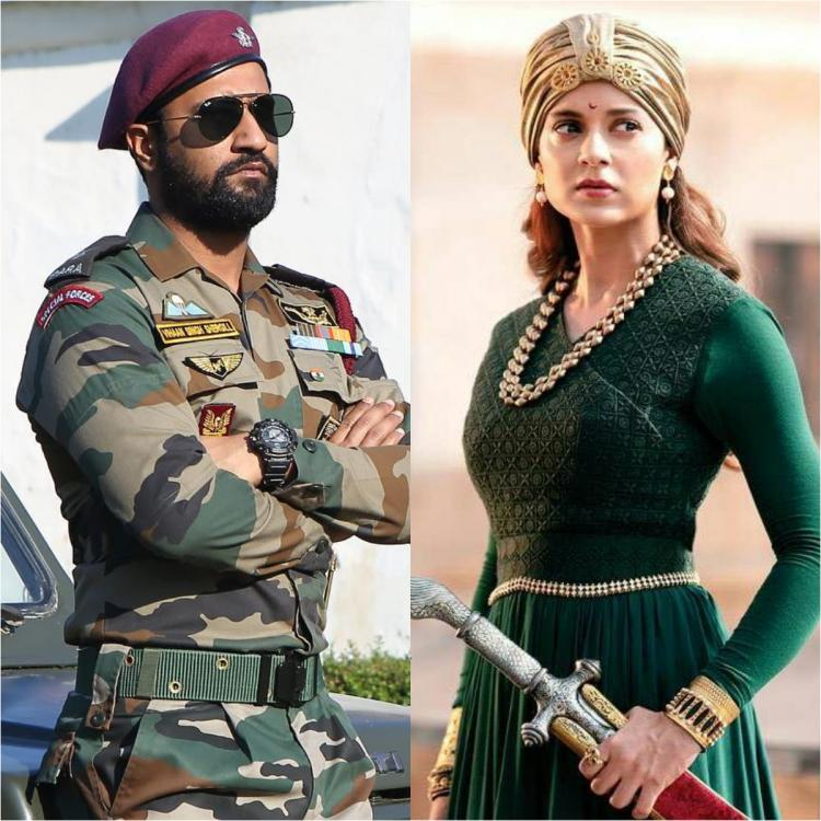 Vicky Kaushal's Uri and Kangana Ranaut's Manikarnika are going STRONG at the box office; check it out