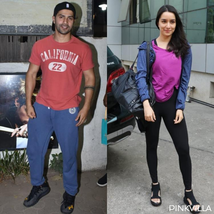 Street Dancer duo Varun Dhawan and Shraddha Kapoor get snapped as they head out in the city; see pics