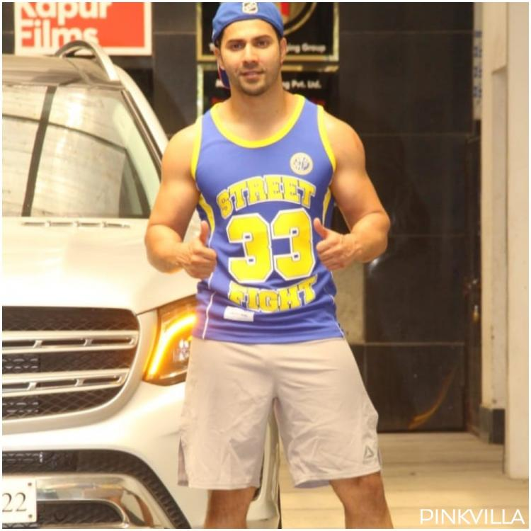 PHOTOS: Varun Dhawan sports a cool outfit and calm swag as he gets spotted outside the gym