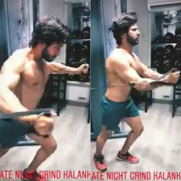 Video,Varun Dhawan,Kalank