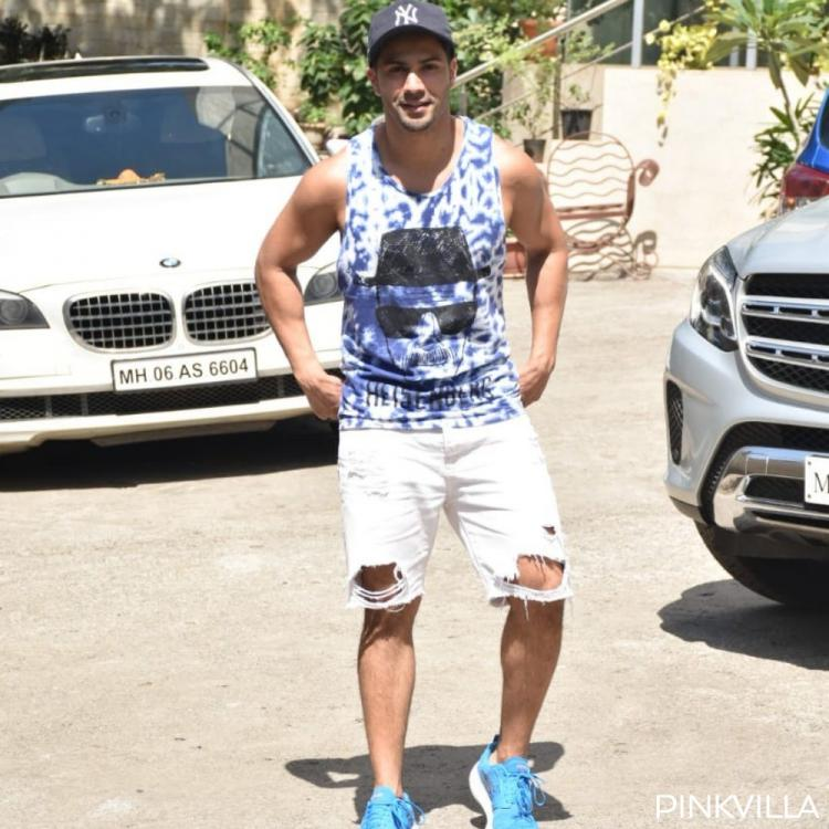 Varun Dhawan is breaking bad in a Heisenberg tee at the Street Dancer 3D rehearsals; See Pics