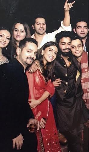Photos Varun Dhawan Natasha Dalal Friend