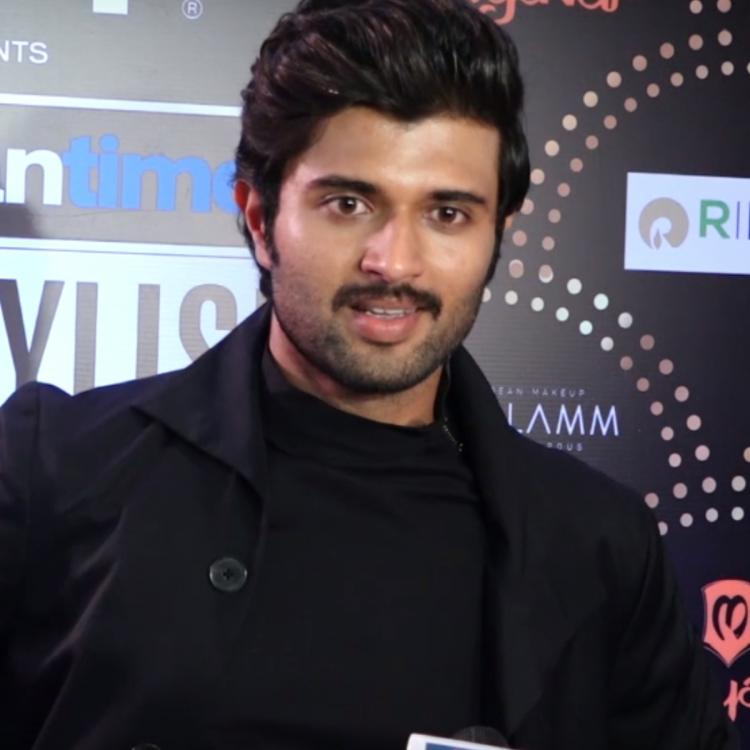 Vijay Deverakonda talks about his Bollywood plans & Shahid Kapoor's remake of his film Arjun Reddy; Watch