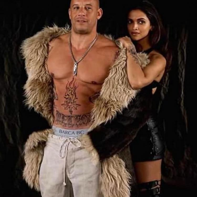 Vin Diesel posts a still with Deepika Padukone from their film xXx: Return of Xander Cage; hints at the sequel