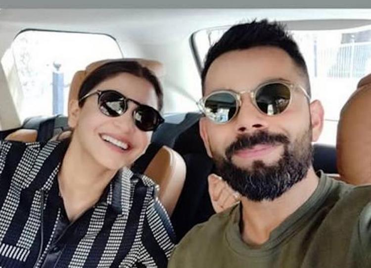 Virat Kohli and Anushka Sharma's selfie is the morning dose of love needed this Valentine's Week