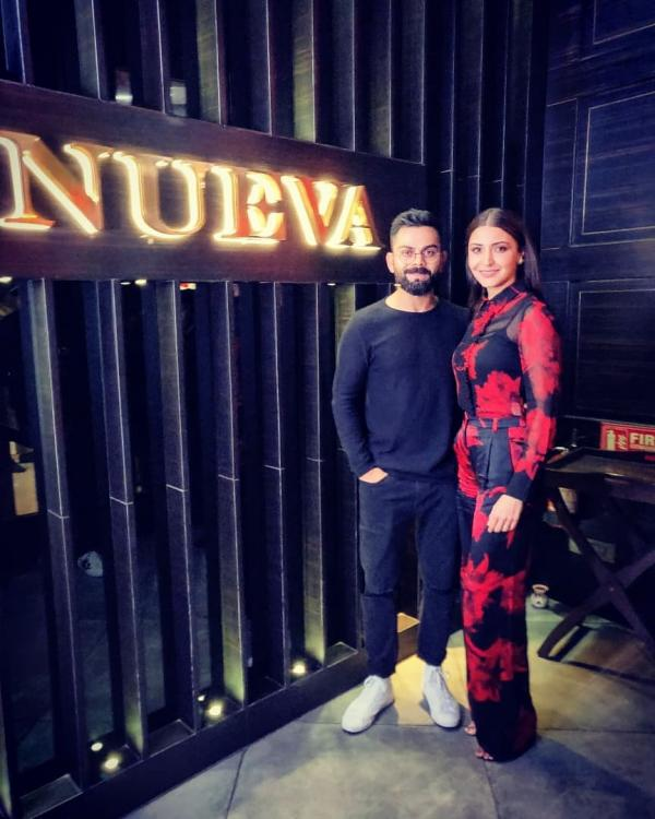 Virat Kohli shares a picture with his Valentine Anushka Sharma and we cannot stop gushing over it