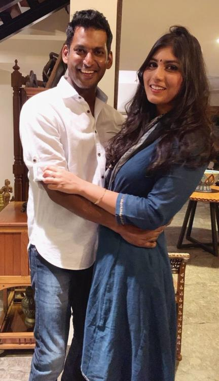 Tamil actor Vishal and actress Anisha Alla to get engaged on THIS date; Details inside