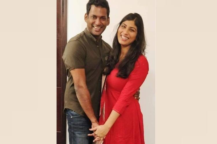 Vishal and Anisha Alla Reddy Engagement: Fans shower love on Twitter for the couple; Check it out