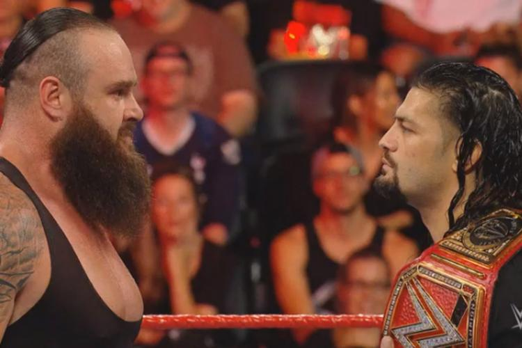 Braun Strowman reveals that Roman Reigns' health is getting better every day.