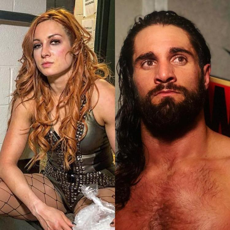 It will be Seth Rollins vs Brock Lesnar and Becky Lynch vs Ronda Rousey at Wrestlemania 35.
