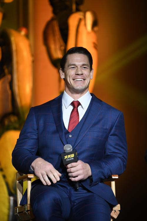 John Cena thinks that there isn't a universal figure who will lead the WWE, going forward.
