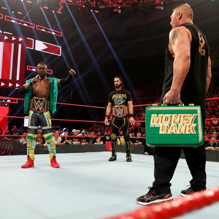 Brock Lesnar won the MITB briefcase during the Money in the Bank 2019 PPV.