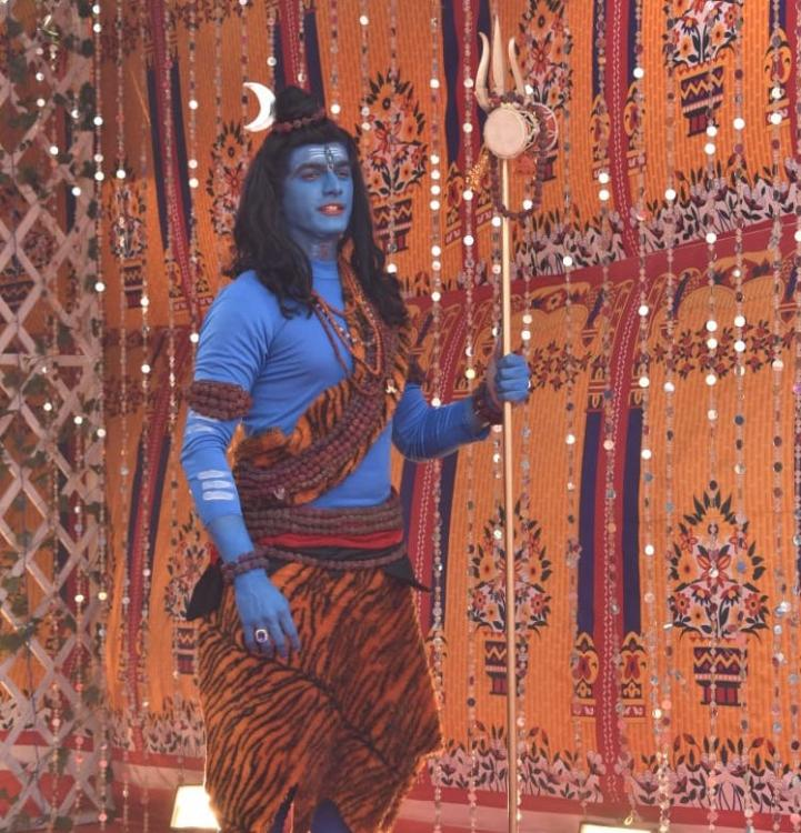 Yeh Rishta Kya Kehlata Hai: Mohsin Khan's on set BTS video & his transition to Lord Shiva are unbelievable