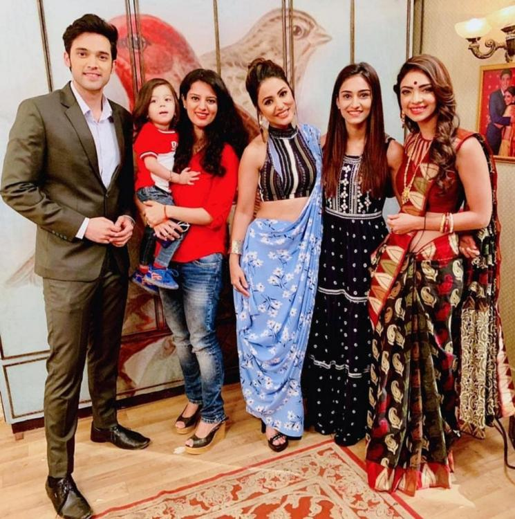 Kasautii Zindagii Kay: Erica Fernandes surprises Parth Samthaan, Hina Khan & others by inviting a little guest