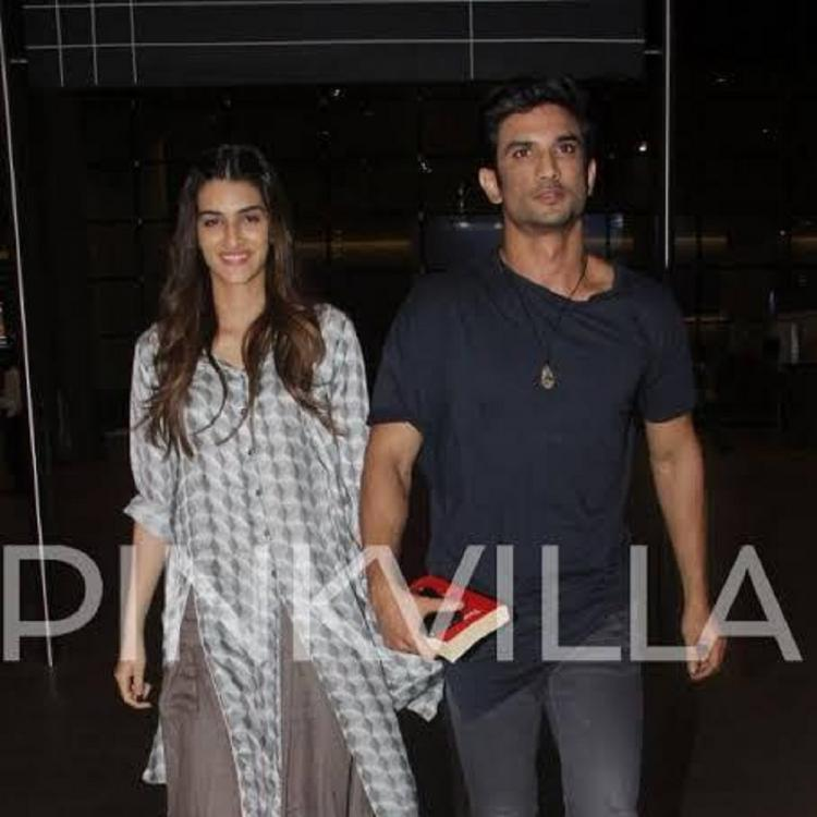 Avengers Endgame: Sushant Singh Rajput left the screening of the film early to avoid contact with Kriti Sanon?