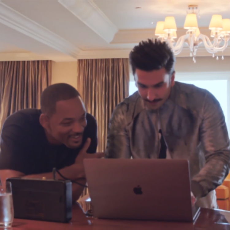 Ranveer Singh shows Will Smith what a 'paisa vasool' entry in Bollywood looks like; WATCH
