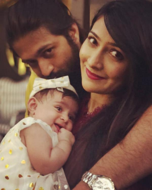 KGF star Yash has a nickname for his daughter 'Baby YR' and it's super cute