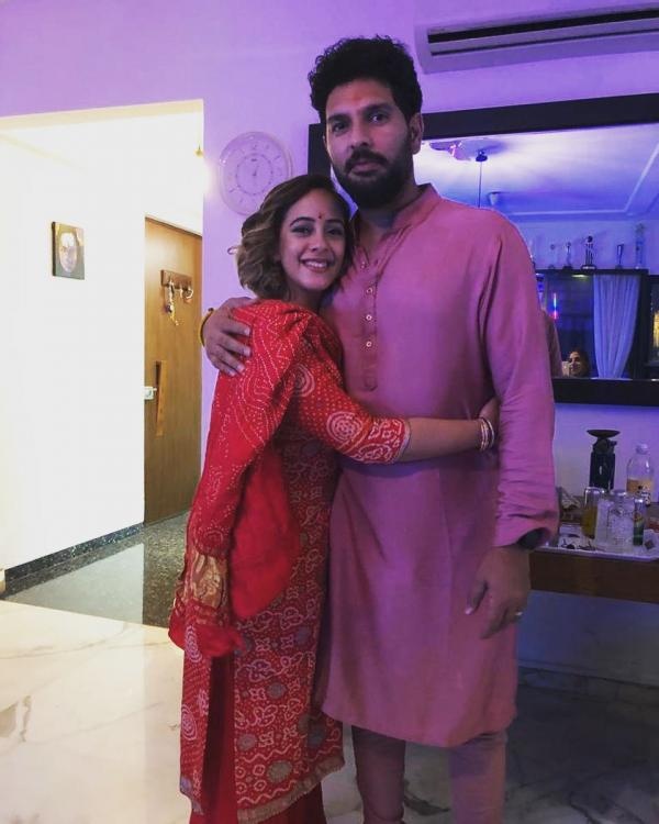 Yuvraj Singh's wife Hazel Keech shares a special message as he announces retirement from international cricket