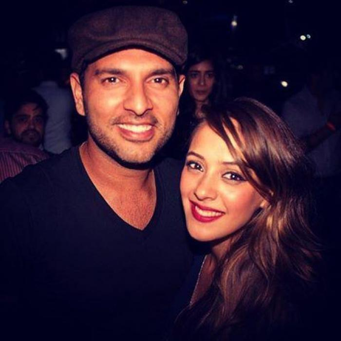 Yuvraj Singh's ex Kim Sharma drops a lovely comment on wife Hazel Keech's post; check it out