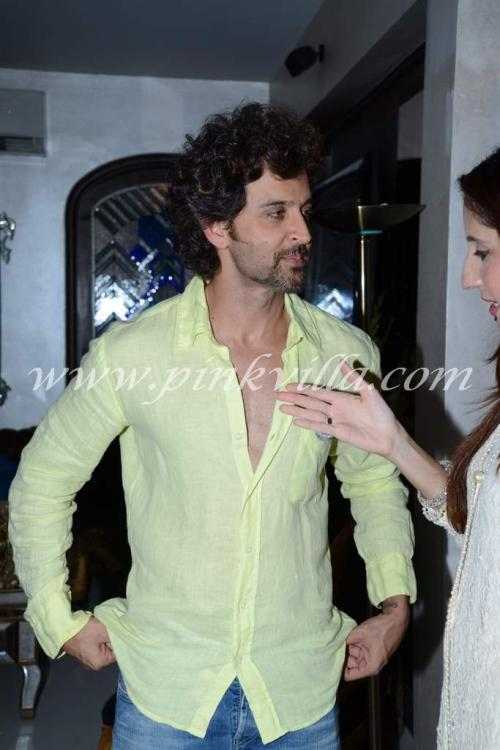 Hrithik And Suzanne Roshan At Zarine Khan S Iftaar Party Pinkvilla