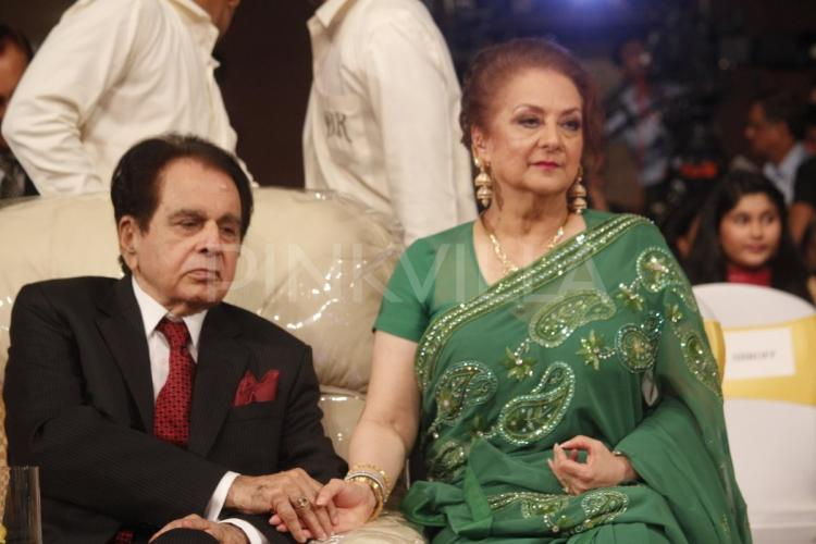 Never let go dilip saira hold hands during autobiography for Saira banu granddaughter
