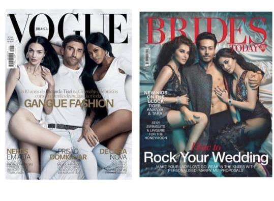 Diet Sabya roasts BRIDES Today featuring SOTY 2 cast for copying VOGUE Brazil's cover