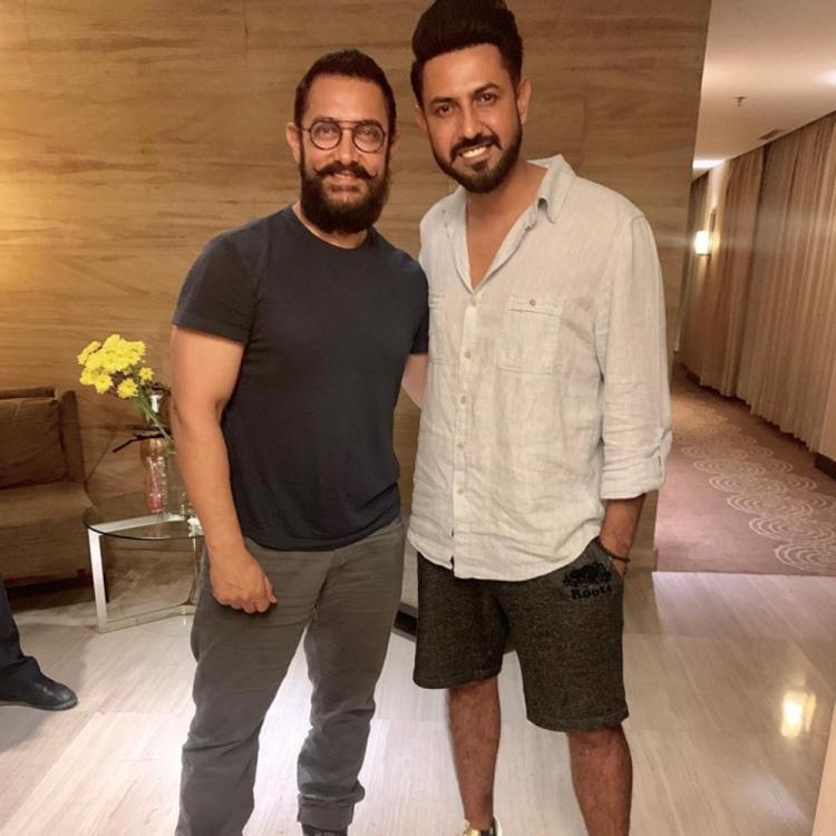 Lal Singh Chaddha: Aamir Khan gets THIS special gift from Punjabi star Gippy Grewal as a symbol of good luck