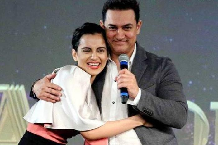 Aamir Khan REACTS to Kangana Ranaut's statement about him not supporting her for Manikarnika; WATCH