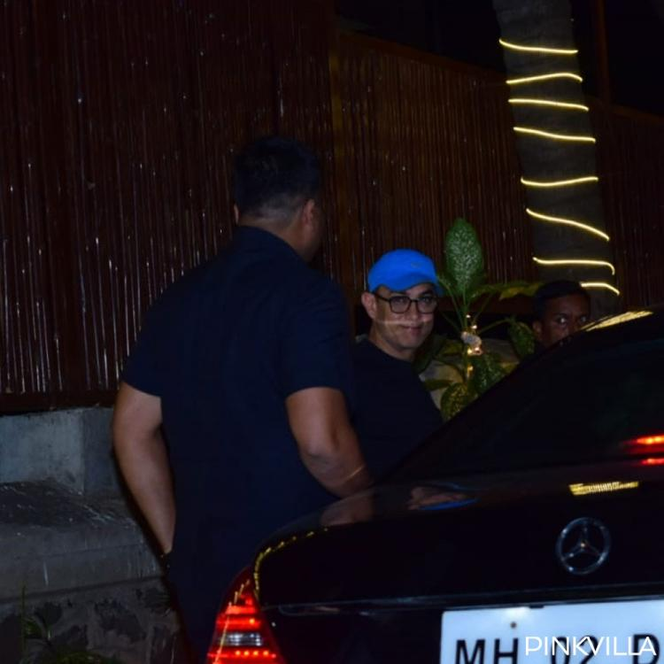 PHOTOS: Laal Singh Chaddha actor Aamir Khan sports clean shaven, geek look as he heads for shooting in Mumbai