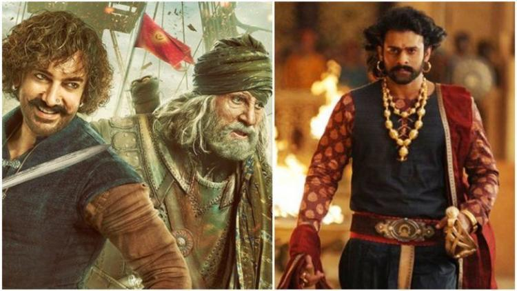 Image result for bahubali and  thug of hindostan
