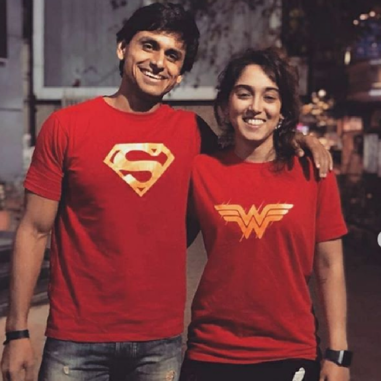 Aamir Khan's daughter Ira Khan turns Wonder Woman as she poses with 'Superman' but her caption steals the show
