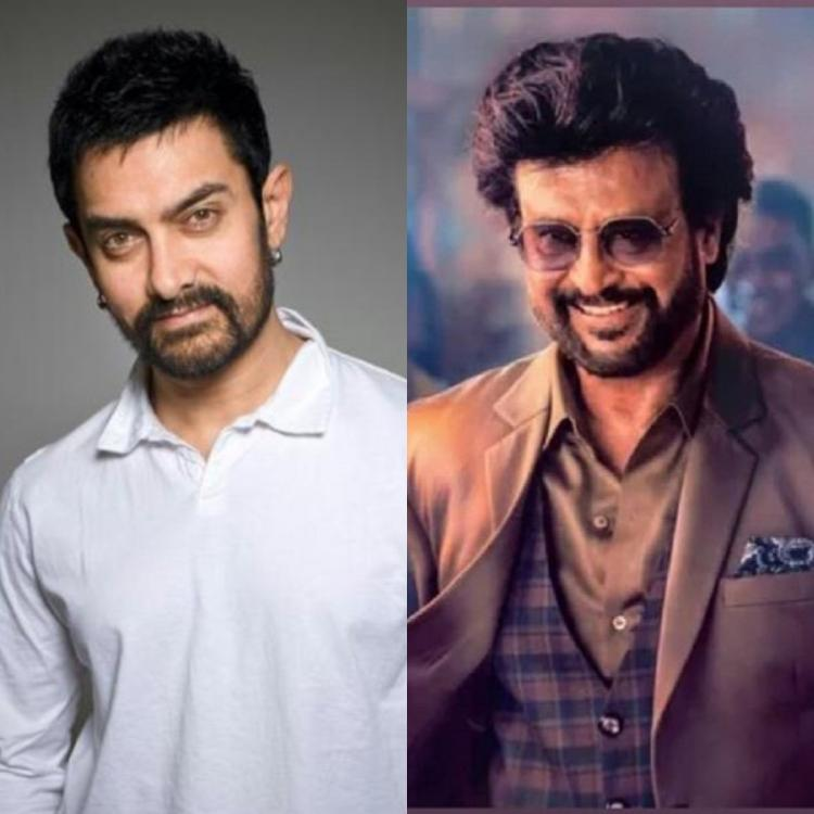 Aamir Khan wishes Rajinikanth on his birthday in a sweet message; calls himself a loving fan