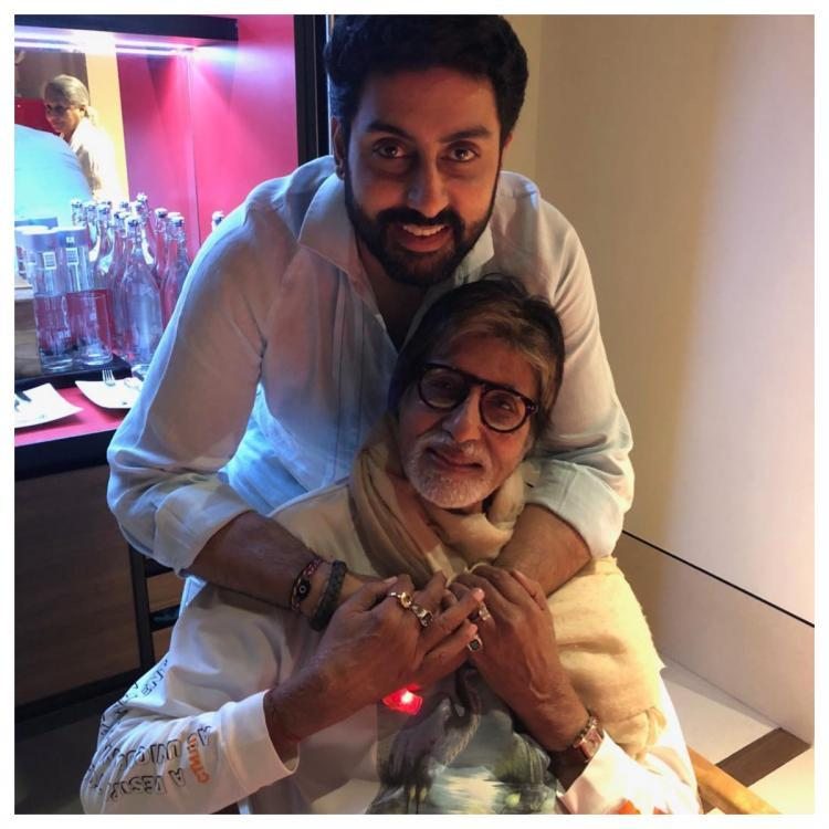 Abhishek Bachchan gets super nostalgic for THIS reason; Check out