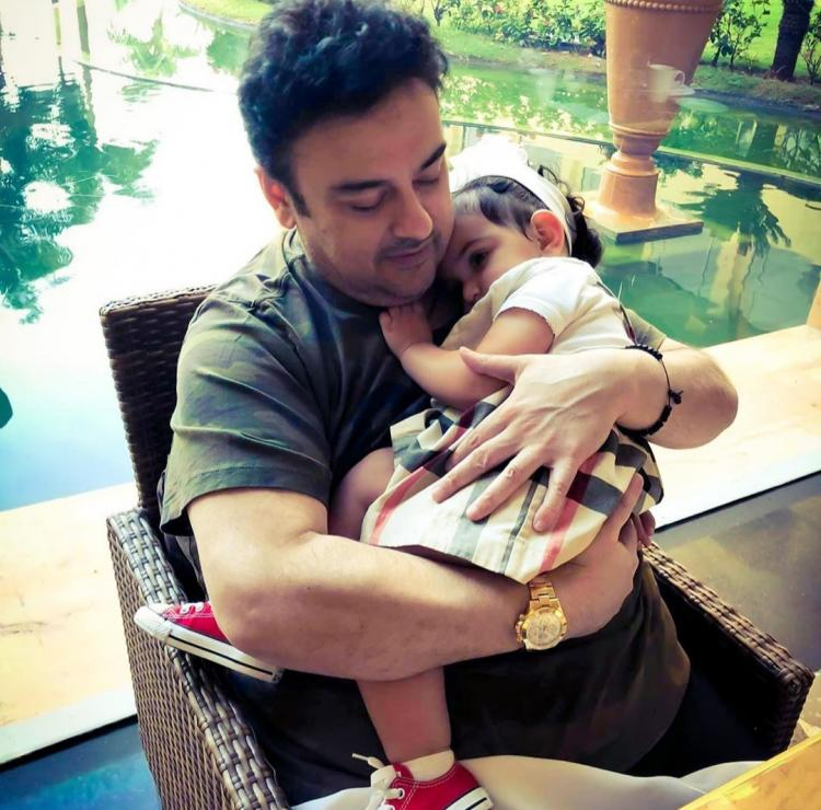 Adnan Sami gifts her daughter a USD 4500 stroller on her second birthday