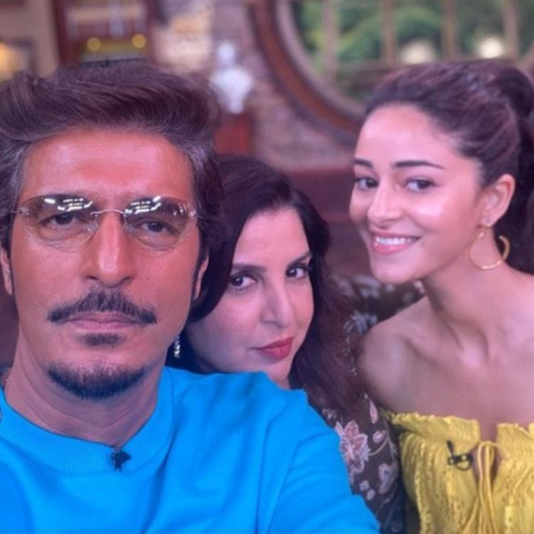 PHOTO: Ananya Panday finds her Tony Stark in father Chunky Panday; calls Farah Khan 'Principal'