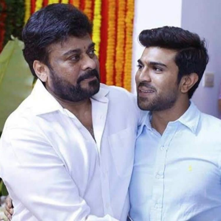 After Chiranjeevi posted a throwback picture of Ram Charan, the RRR star gets us all emotional