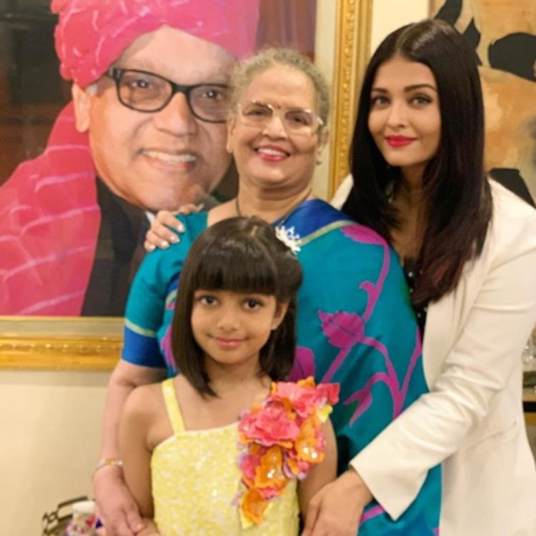 Aishwarya Rai celebrates dad's birth anniversary as day of smiles with Aaradhya. See pics