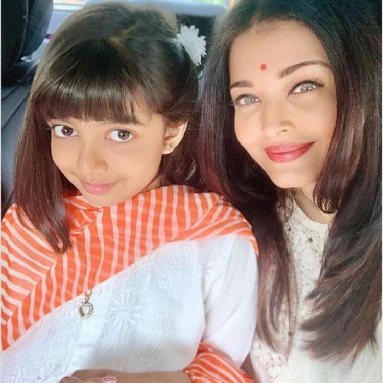 Aishwarya Rai Bachchan & Aaradhya win the internet as they dress their traditional best in a throwback PHOTO