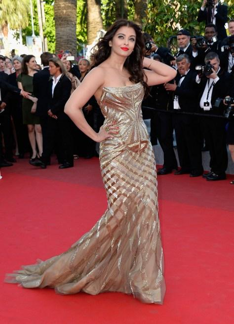 Cannes 2014 Aishwarya Rai Bachchan At The Premiere Of