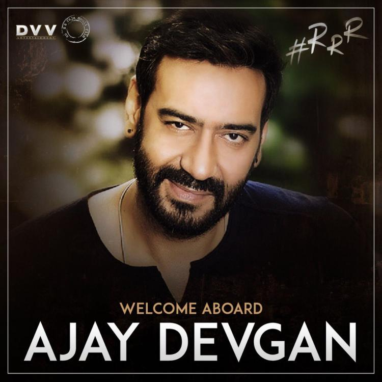 RRR: Ajay Devgn and Alia Bhatt CONFIRMED in SS Rajamouli's next with Ram Charan and Jr NTR