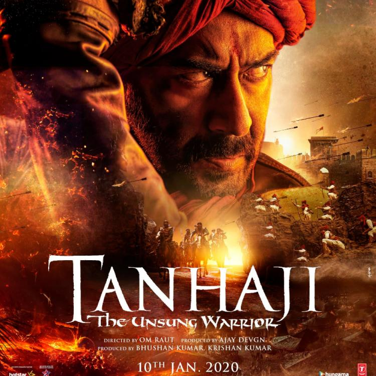 Tanhaji The Unsung Warrior: Ajay Devgn sets the countdown running & announces the trailer's release date