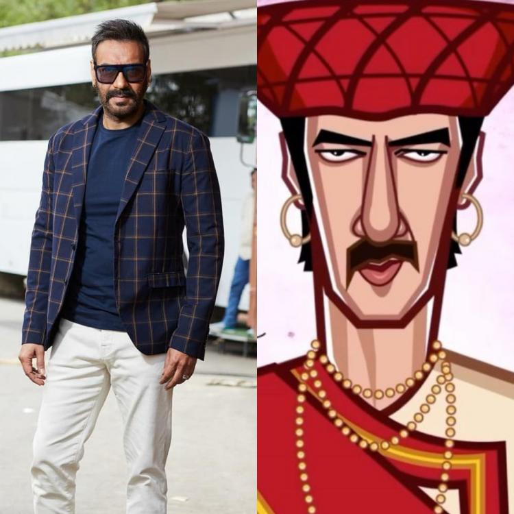 Ajay Devgn shares his journey in Bollywood through animated videos and shows his transformation; WATCH