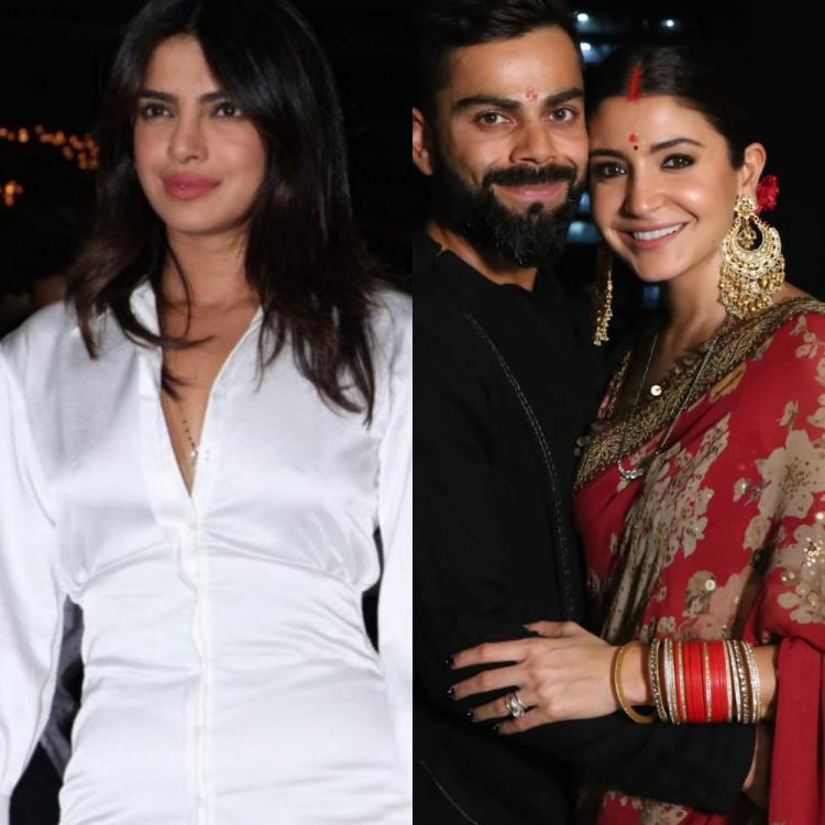 Priyanka Chopra Jonas finds Anushka Sharma & Virat Kohli 'the cutest' as they share their Karwa Chauth picture