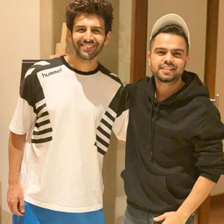 Kartik Aaryan is overwhelmed with Akhil's special gesture and it will make your hearts drool; Check it out