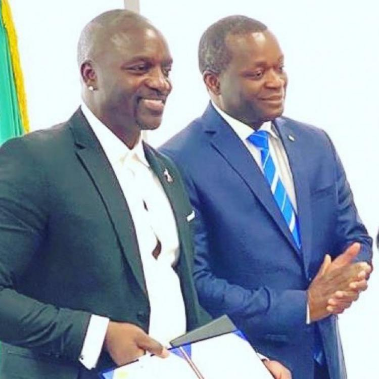 Akon to have a city named after him called the 'Akon City' in Senegal; Read Deets